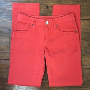 United Colors of Benetton Burnt Orange Jeans Size2